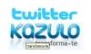 Kazulo no Twitter e no telemóvel